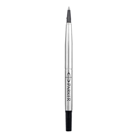 Refill for Parker Rollerball Pens - black with Medium Point